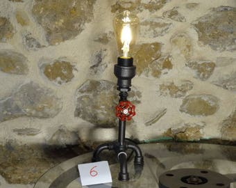 Lamp has put deco industrial vintage