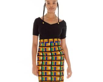 Tinuke Straight Skirt