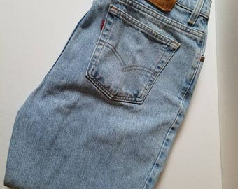 Vintage Women's Levis 512 Slim Fit Tapered Leg jeans, Made in USA!