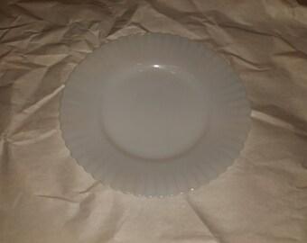 MacBeth-Evans Petalware Monax Opalescent Bread & Butter Plate