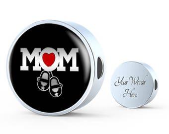 Mom Baby Charm