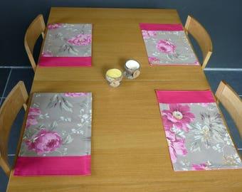 Place mats Flowers