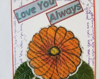 Love you Always Valentines card