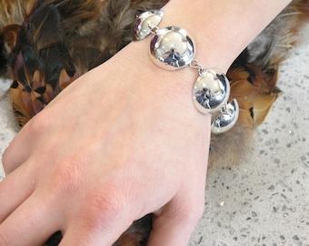 1000-37 Fine Silver 99.9% Bracelet Hammered