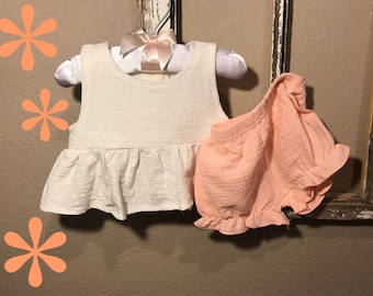 Ruffle Top with Bloomers 6mo