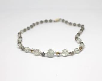 Short Necklace with Preciosa Crystals