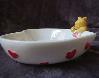 Disney WINNIE THE POOH trinket dish by Midwest of Cannon Falls