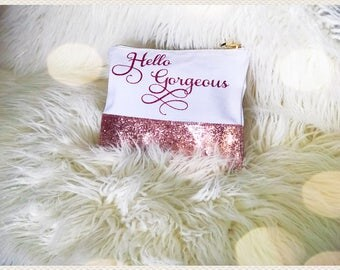 Personalized Makeup Pouches