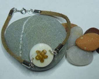 Bracelet and shell