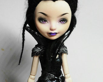 Ever after high ooak Raven Queen repaint by Ulia Kalaveras free shipping