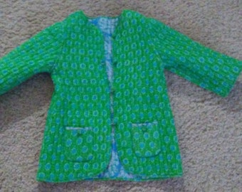 Quilted Jacket - Size 4-5