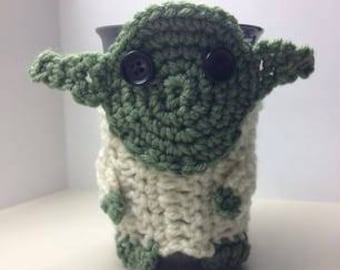 May The Coffee Be With You Star Wars Yoda Cup Cozy