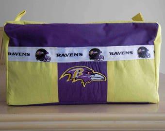 NFL Travel/Toiletry Bag - Baltimore Ravens (NEW)