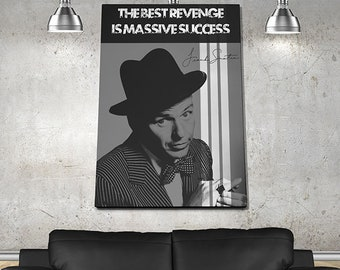 Frank Sinatra Poster or Canvas