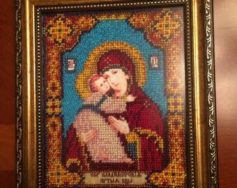 Icon of the Mother of God. Икона Владимирской Божьей Матери