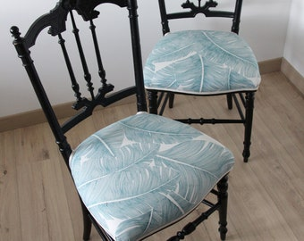 Napoleon III (x 2) chairs