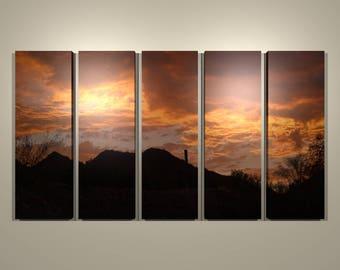 Sky Fire Multi-panel Print