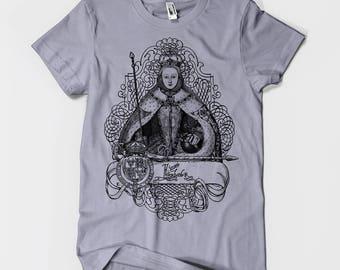 Queen Elizabeth I in Coronation Robes Men's or Unisex T-shirt XS S M L XL 2XL 3XL