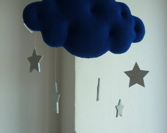 Star Cloud, decorative baby mobile