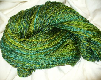 Hand Spun Yarn for Knitting or Crochet