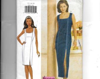 Butterick Misses' /Misses' Petite Dress Pattern 6063