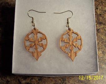 Wooden Earrings ------Scrollsaw