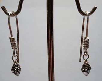 Sterling Silver Dangle Earrings 2