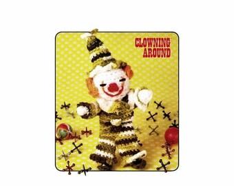 SALE Freddie Finger Puppet Clowning Around Crochet Pattern Annies Pattern Club