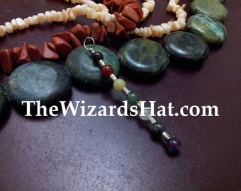 TODAY only! 7 Chakra Pendant,  Natural Gemstones, available in different chakra choices. Metaphysical, Meditation & balance