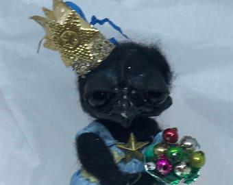 Queen of the crows Ooak  art doll