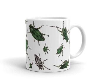 Mug | American Insects | Victorian Entomology