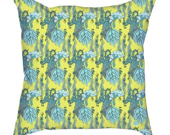 Jamaican Botanicals Throw Cushion Covers (pillow insert not included)
