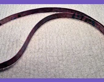 Light Purple Batik fabric lanyard for ID badge  SALE!!!!