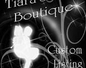 Custom listing for Irma Ramirez