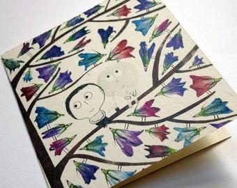 Card C054 birds