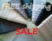 50% SALE 10m Neutral STRAPS Elastic Choose Color FREE Shipping by Merckwaerdigh