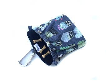 Dog Training Treat Bag Pocket 2.0 in Cactus