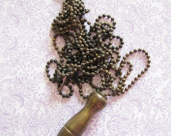 Metal Madness...Old Pull Chain with Amazing Patina