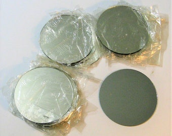 Nineteen Five Inch Round Mirrors