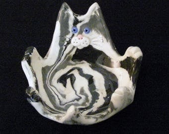 Ceramic Cat Dish