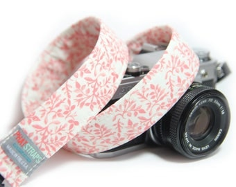 Floral Camera Strap, Whispering Floral