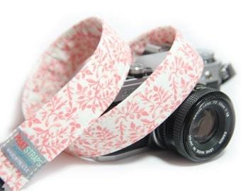 Floral Camera Strap, Whispering Floral
