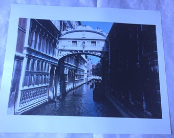 16x20 Photograph of a Venice Canal