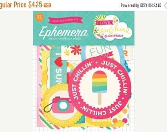 ON SALE Echo Park I Love Sunshine Ephemera Pack