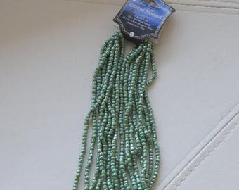 """75% OFF CLEARANCE SALE Global Nomad, Glass Seed Bead Strands, 14"""""""