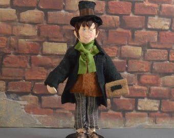 Dickens Character Oliver Twist Artful Dodger Miniature Doll