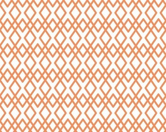 20EXTRA 50% OFF Lula Magnolia Orange Lattice