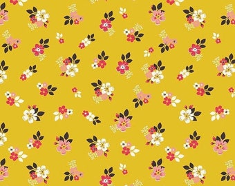 ON SALE Design By Dani Vintage Daydream Gold Floral