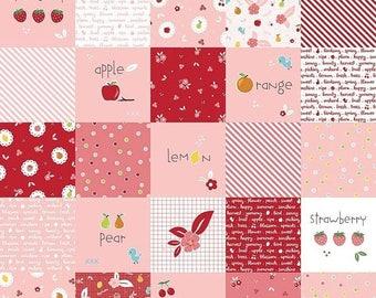 20%OFF Riley Blake Designs Sweet Orchard Designer Cloth Pink