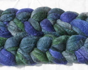 Blueface Leicester Tussah Silk Spinning Fiber - 'BGD'